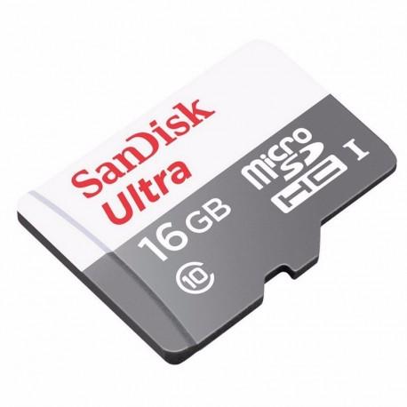 Memorias 16GB clase 10 sandisk ultra