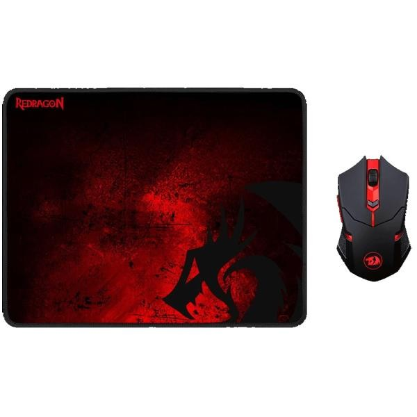 Pack Gamer Mouse + Pad Mouse M601Wl-Ba Redragon Redragon