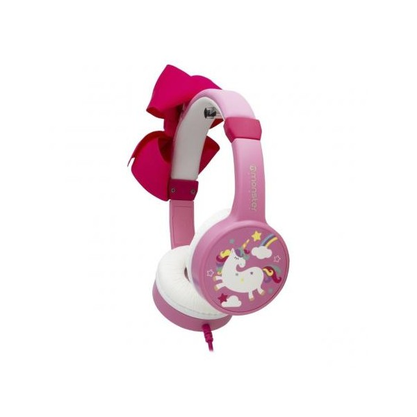 Audifonos coolkid unicornio rosa