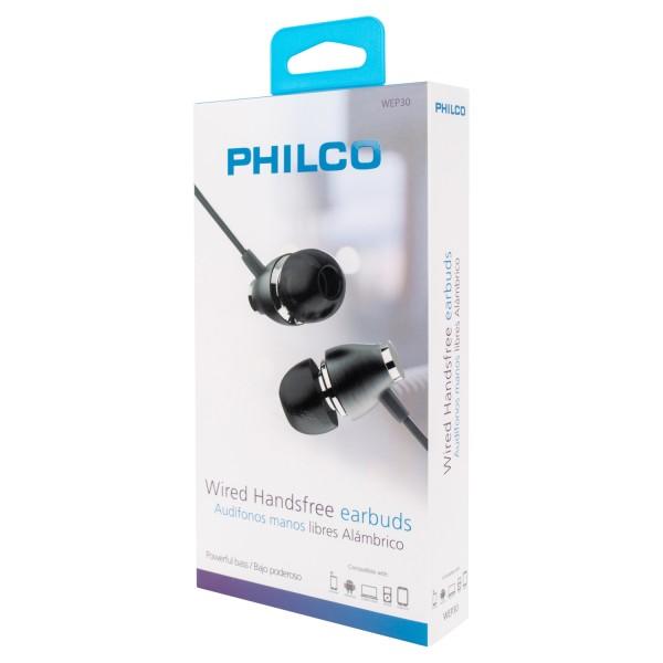 Audifonos philco negro WEP30