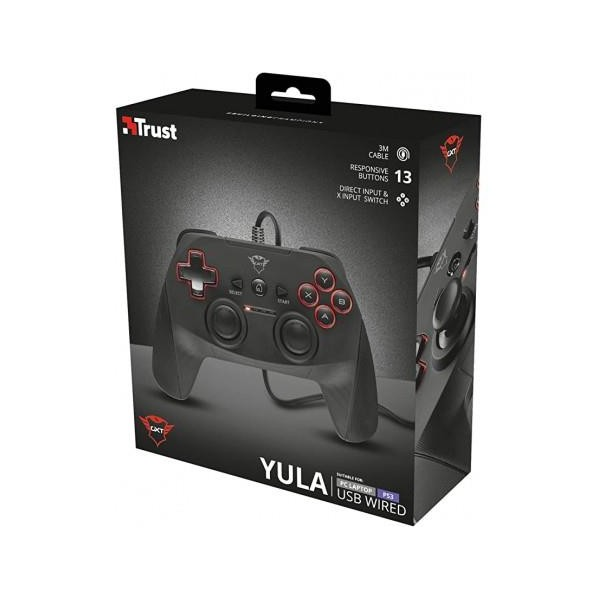 control Trust Gamepad Yula Wired USB PC/PS3 GXT-540