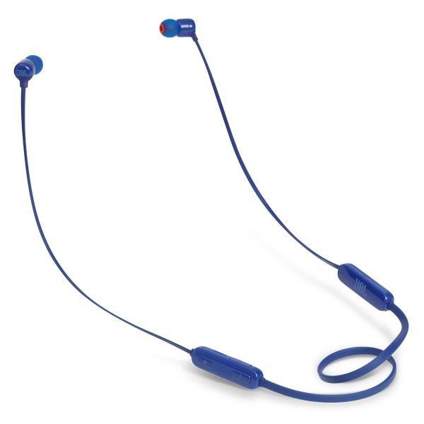 Audifonos JBL bluetooth TUNE110BT azul