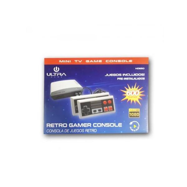 Mini Consola retro 600 juegos HDMI Ultra