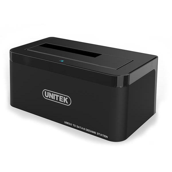 Unitek USB 3.0 to SATA 6G Hard Drive Docking Station - Black