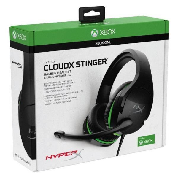 AUDIFONOS HYPERX CLOUDX STINGER CORE XBOX
