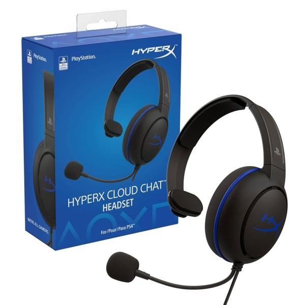 AUDIFONO HYPERX CLOUD CHAT HEADSET PS4