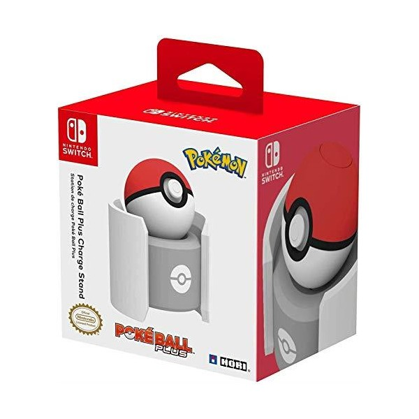 HORI Pokeball Plus Drop y Charge Stand Nintendo Switch