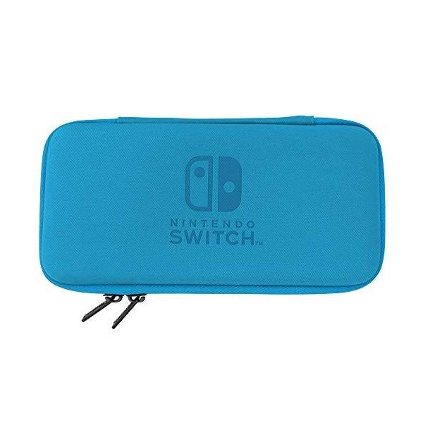 Nintendo Switch Lite Slim Hard Pouch Blue by Hori Nintendo Switch