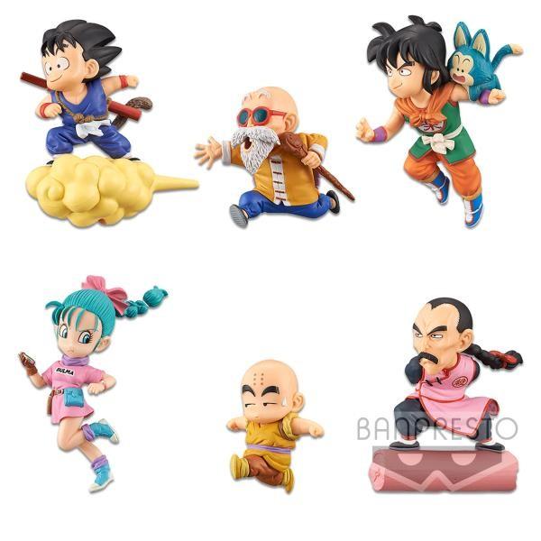 Figura coleccionable de Dragon Ball World - Los personajes