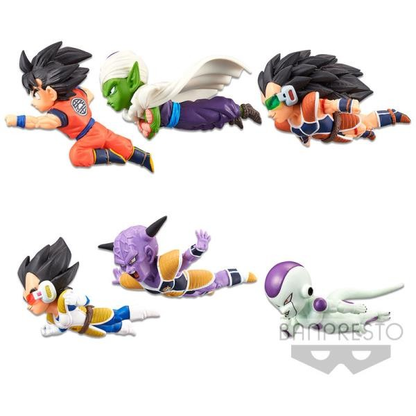 Dragon Ball Z World The Historical Characters vol.1 Figura coleccionable mundial 7cm