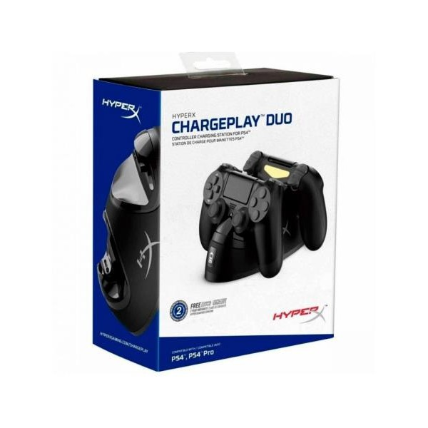 CARGADOR PS4, PS4 PRO. CHARGEPLAY DUO
