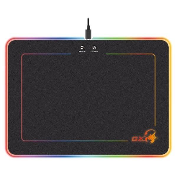 GENIUS GX GAMING mousepad GX-Pad 600H RGB/ 350 x 250 x 5,5 mm/ hard/ USB
