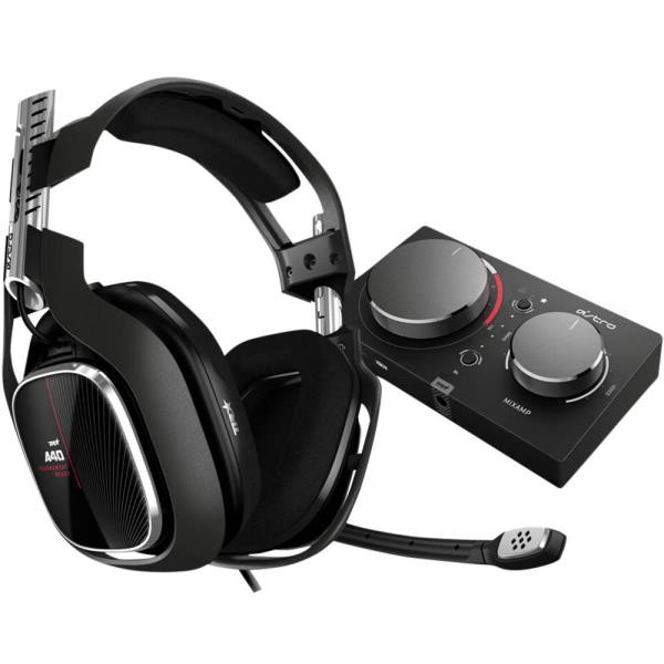 AURICULARES ASTRO A40 BLACK + MIXAMP PRO BY LOGITECH