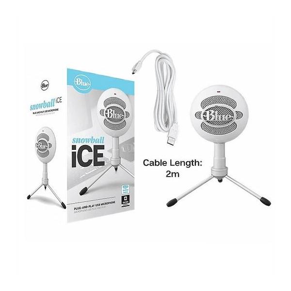 Micrófono Profesional Blue Snowball Ice White