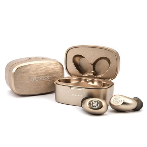 Guess Bluetooth earphones TWS GUTWSJL4GGO gold