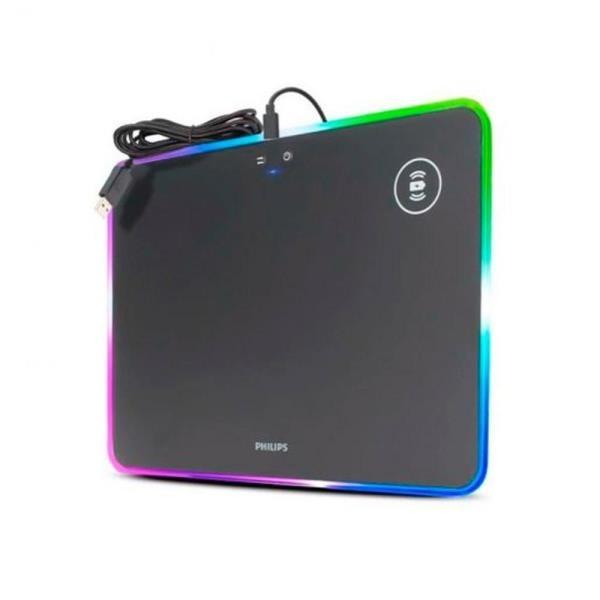 Mouse Pad Philips SPL7504 RGB USB Luces Ajustables