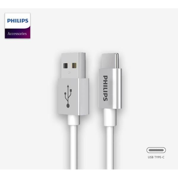 Cable Tipo C a usb Philips dlc2528m