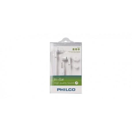 Audifonos Philco IN ear blanco