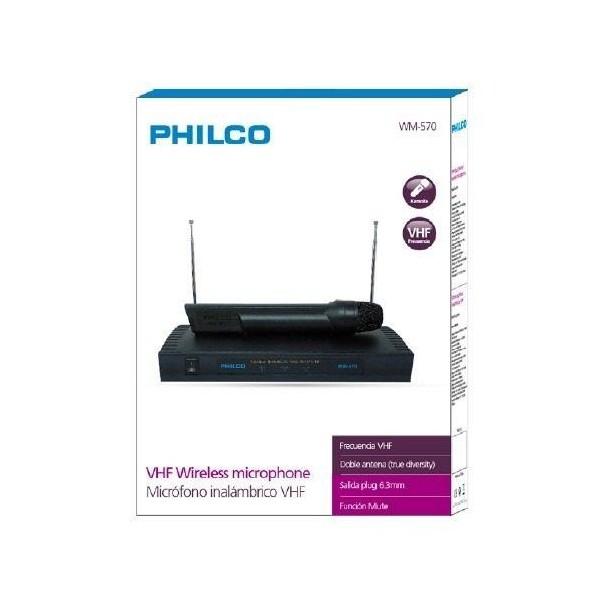 Microfono inalambrico philco WM-570