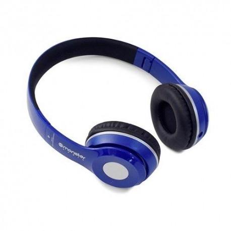 audifonos bluetooth azul monster 725BL